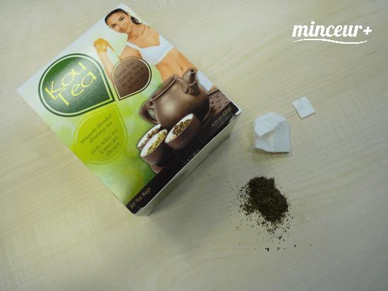 kou-tea the vert perte de poids